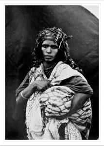 Femme rifaine des Beni Ulid (haut Ouergha, Maroc, 1931)